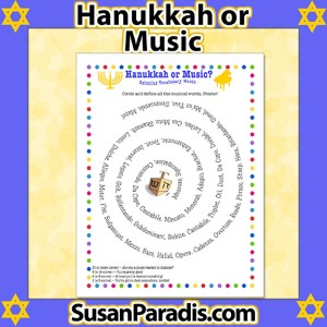 Hanukkah or Music