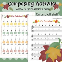 Fall Composing Activity