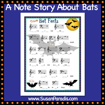 Note Story About Bats