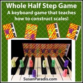 Construct Major and Minor Scales