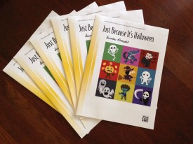 Just Because It's Halloween published by Alfred Music