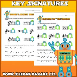 Droid Key Signatures