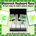 Shamrock Keyboard Race