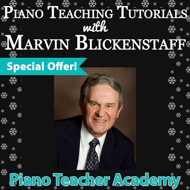 Piano Teaching Tutorials with Marvin Blickenstaff