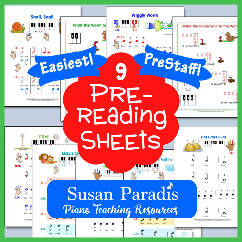 Easiest Pre Reading Bundle Two