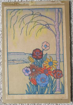 Colwell | Flowers by Lake