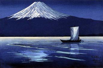 Miller | Moonlight on Mount Fuji