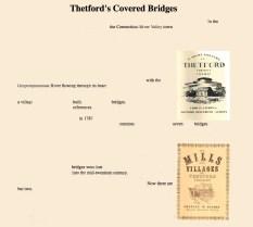 Thetford's Covered Bridges   Rebecca Siegel
