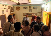 Our group had the privlidge of visiting our guides grandmothers home
