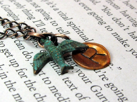 Initial Necklace: Win Yours from Of the Earth Jewelry
