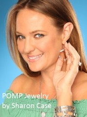 Actress and jewelry designer Sharon Case