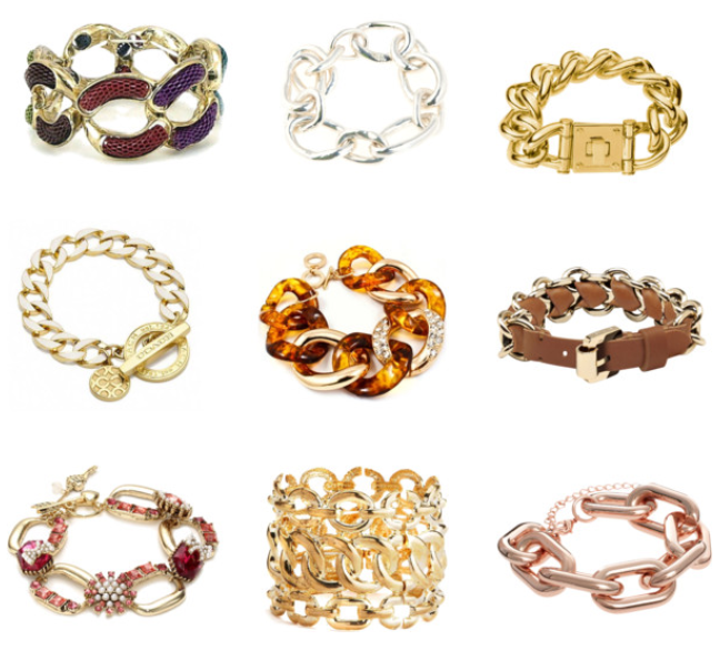 Chunky Chain Link Bracelet: Luxe for Fall!
