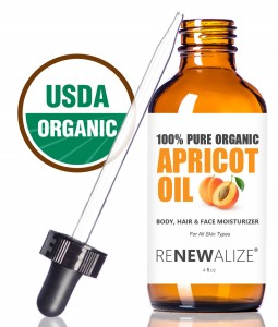 Renewalize Apricot Oil Renews Hair and Skin