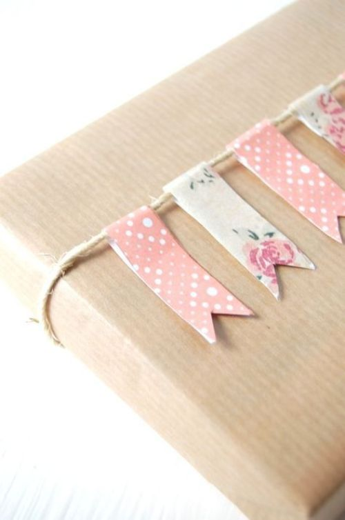 DIY washi tape gift ideas and inspiration