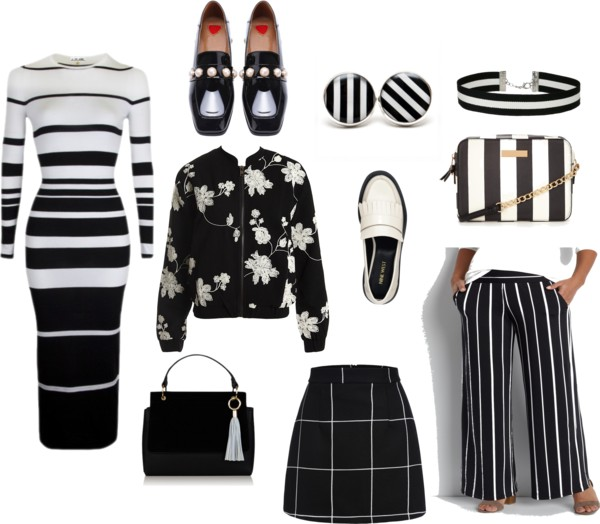 Black and White Style UNDER $50 and a Giveaway