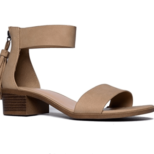Midori ankle strap sandals from J. Abrams are so stylish for spring. LOVE the back tassel!