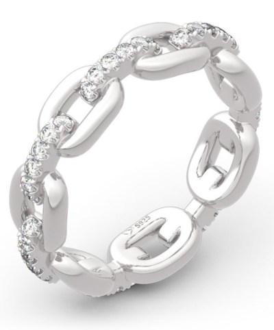 Jeulia Jewelry. bridal set in sterling silver and white sapphires