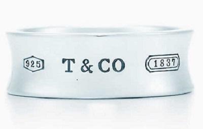 Tiffany & Co. Silver Ring Under $250