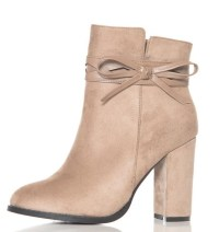 Taupe suede boots from Quiz Clothing.work with everything!