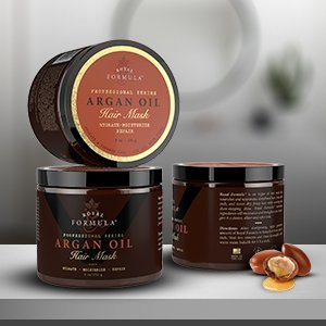 Argan Oil Hair Mask Deep Conditions Dry, Color Treated Hair