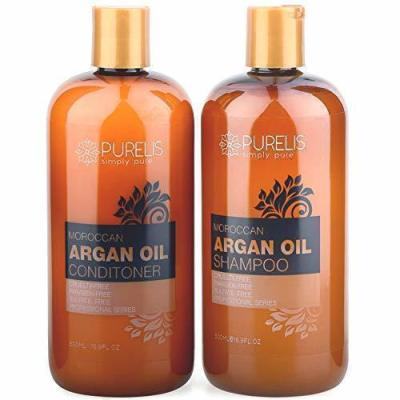 the easiest way to keep my hair soft and supple, even during the summer, is to use Argan Oil Shampoo and Conditioner regularly. And, I've just discovered a really affordable option from Purelis that moisturizes my summer-stressed hair, leaving it shinier and softer than ever before.