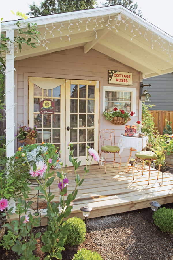Need some solitude? try a She Shed!