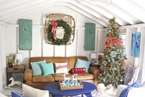 Winter She Shed Inspiration: Creating Your Holiday Escape