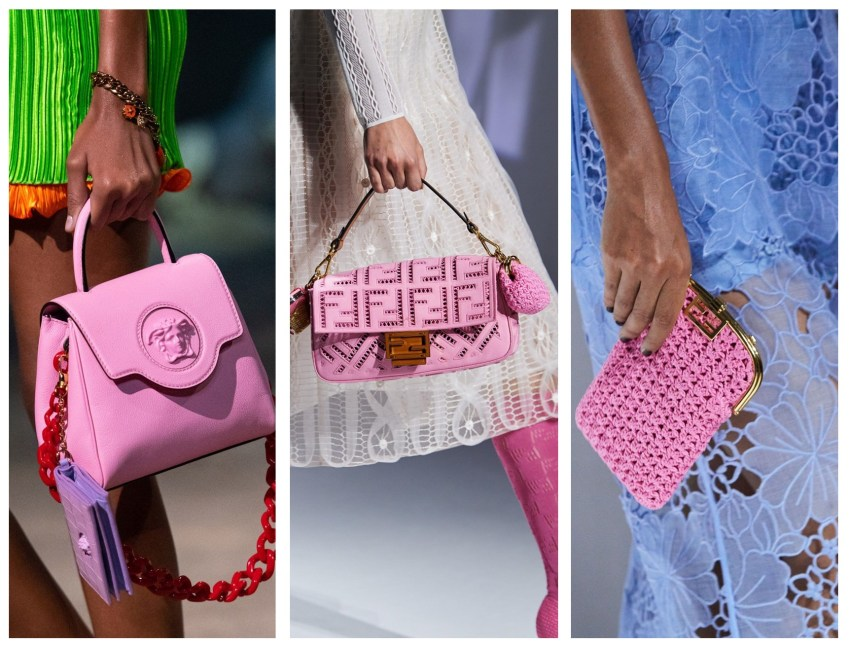 Bubblegum Pink Handbags Are Guaranteed to Make You Smile