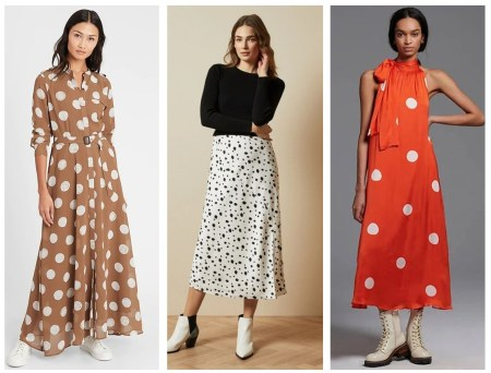 Polka Dots Look Fresh For Spring