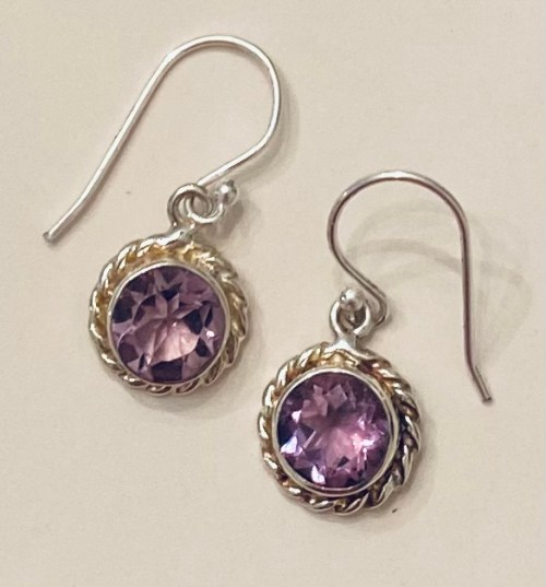 #Giveaway! Sterling Silver and Amethyst Earrings by Sitara Collections