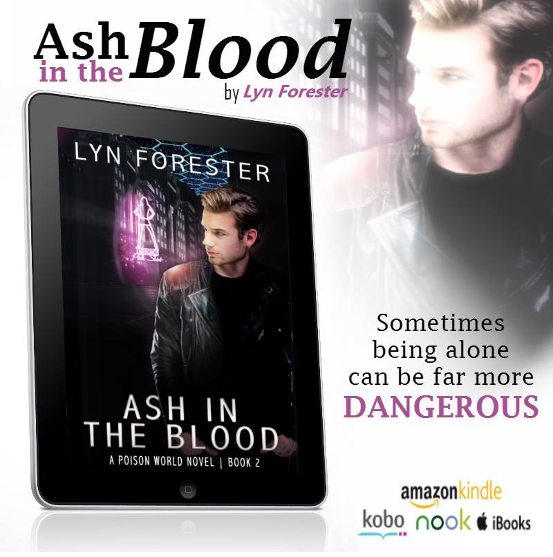 ASH IN THE BLOOD by Lyn Forester