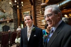 Groom, wedding, Whiteface Lodge, Lake Placid