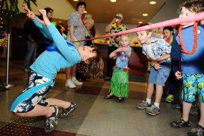 Children limbo at the BSRCC Membership Party