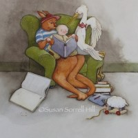 Illustration Friday: book