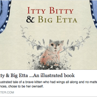 Itty Bitty & Big Etta: Katherine Dunn's illustrated book, a Kickstarter Project