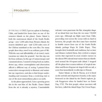 Easter Island Sketchbook by Susan Sternau, Introduction