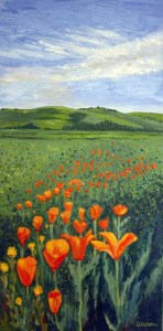 Field of Poppies, by Susan Sternau