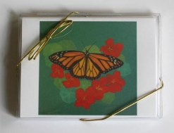 Monarch Butterfy, small card box front