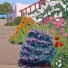 Napa Street View, giclee print by Susan Sternau