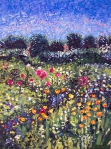 Poppy Garden giclee print by Susan Sternau