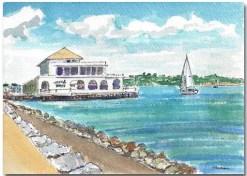 Sausalito Seawall by Susan Sternau