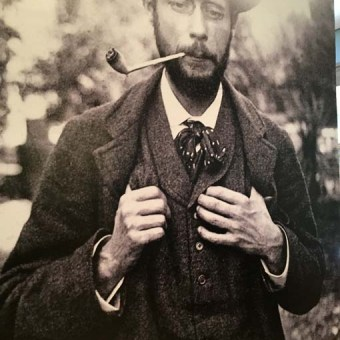 Bonnard photo of the artist