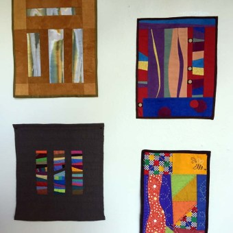 Four Small Study Quilts