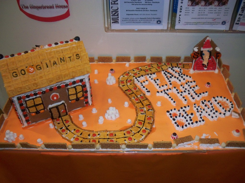 SF Giants Gingerbread, 2010
