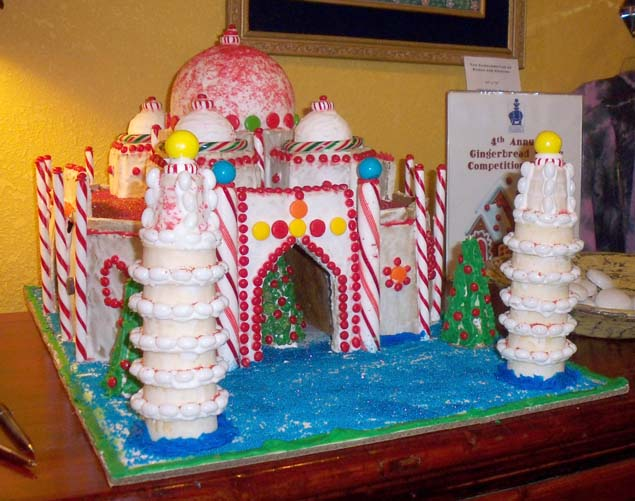 Taj Mahal Gingerbread House, 2010