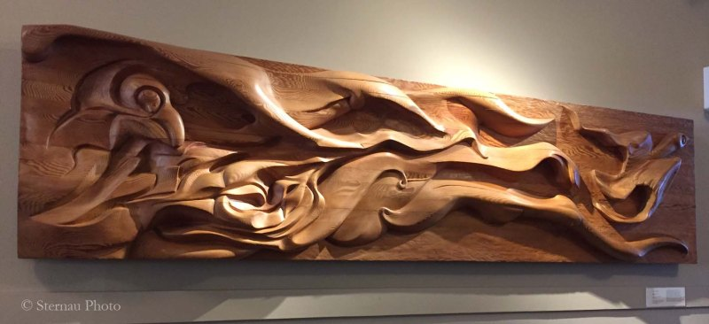 Cool carvings, Flight of Youth by Al E Sybrian