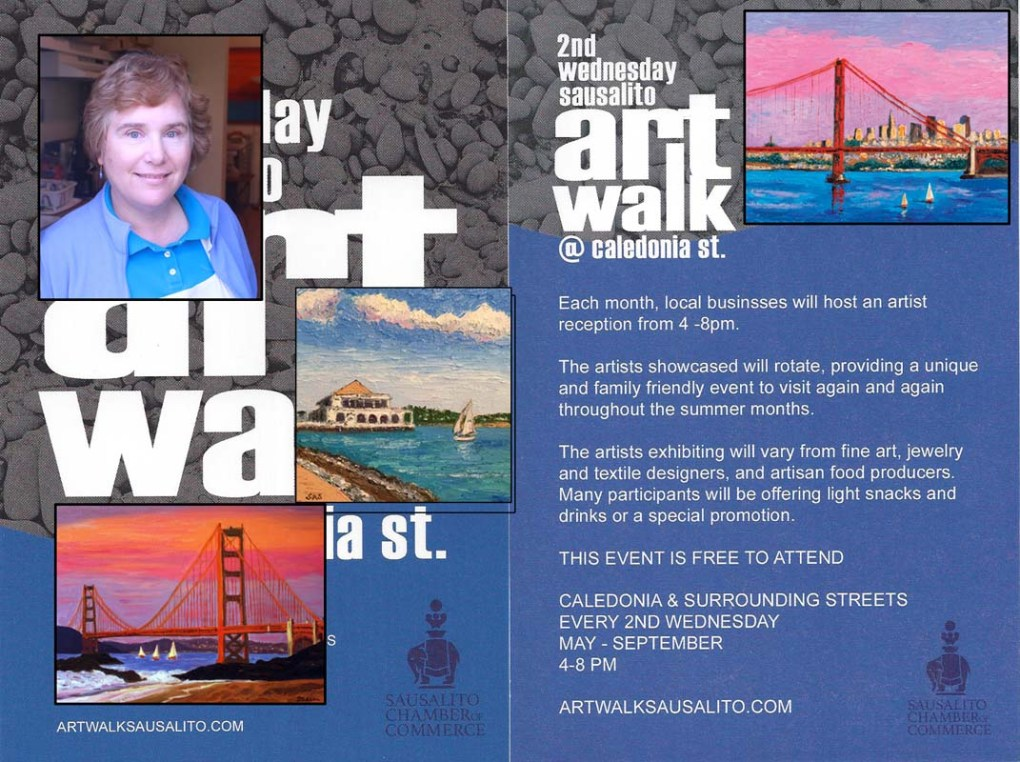JULY 12 ART WALK, Susan Sternau Studios