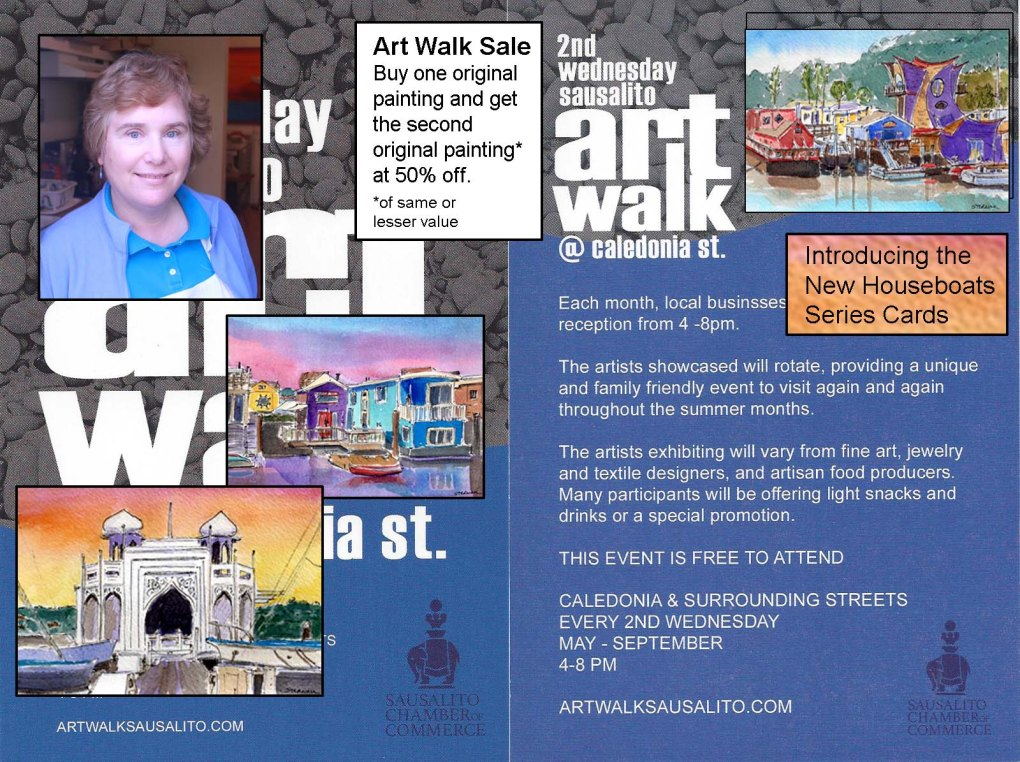 September 13 ART WALK event sat Susan Sternau Studios