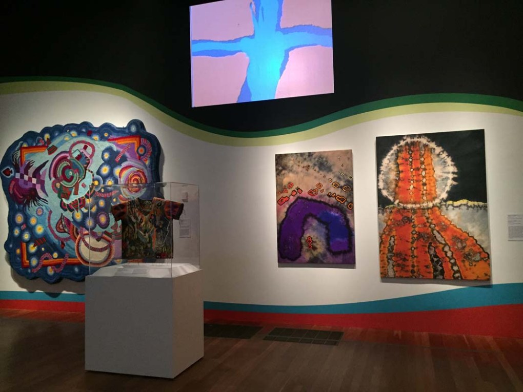 Fabric Art, Summer of Love Exhibit