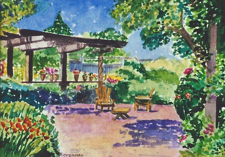 Sonoma Garden commissions by Susan Sternau